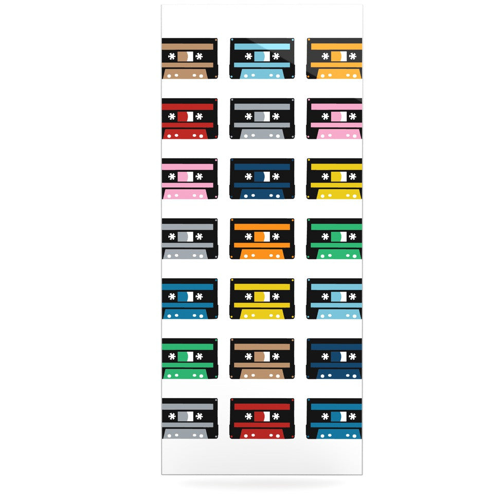 "Project M ""Rainbow Tapes"" Luxe Rectangle Panel - KESS InHouse  - 1"