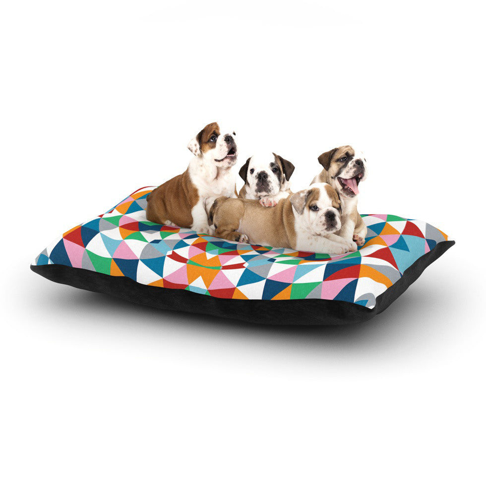 "Project M ""Modern Day"" Dog Bed - KESS InHouse  - 1"
