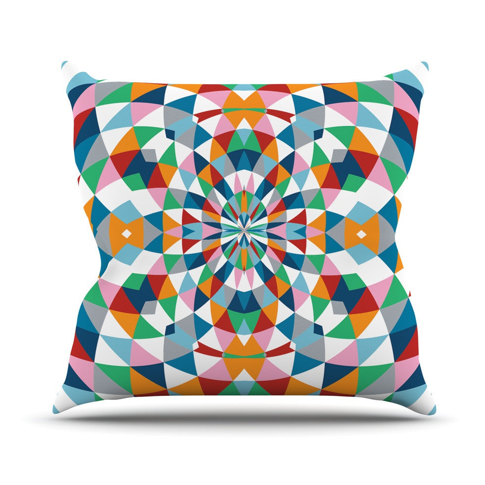 "Project M ""Modern Day"" Outdoor Throw Pillow - KESS InHouse  - 1"