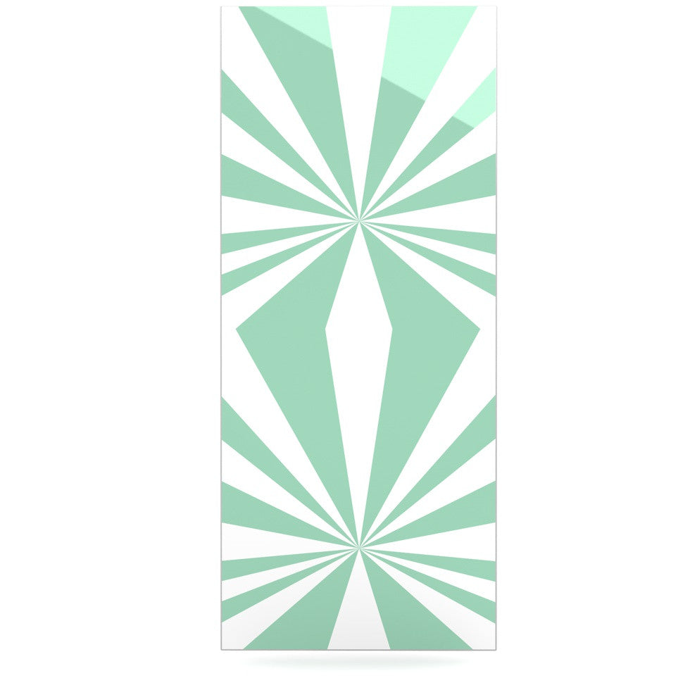 "Project M ""Starburst Mint"" Luxe Rectangle Panel - KESS InHouse"
