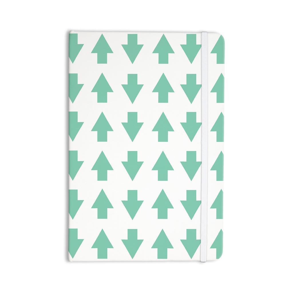 "Project M ""Arrows Up and Down Mint"" Everything Notebook - KESS InHouse  - 1"
