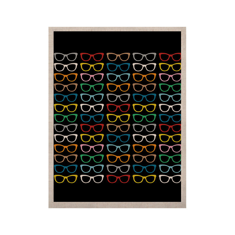 "Project M ""Sun Glasses at Night"" KESS Naturals Canvas (Frame not Included) - KESS InHouse  - 1"