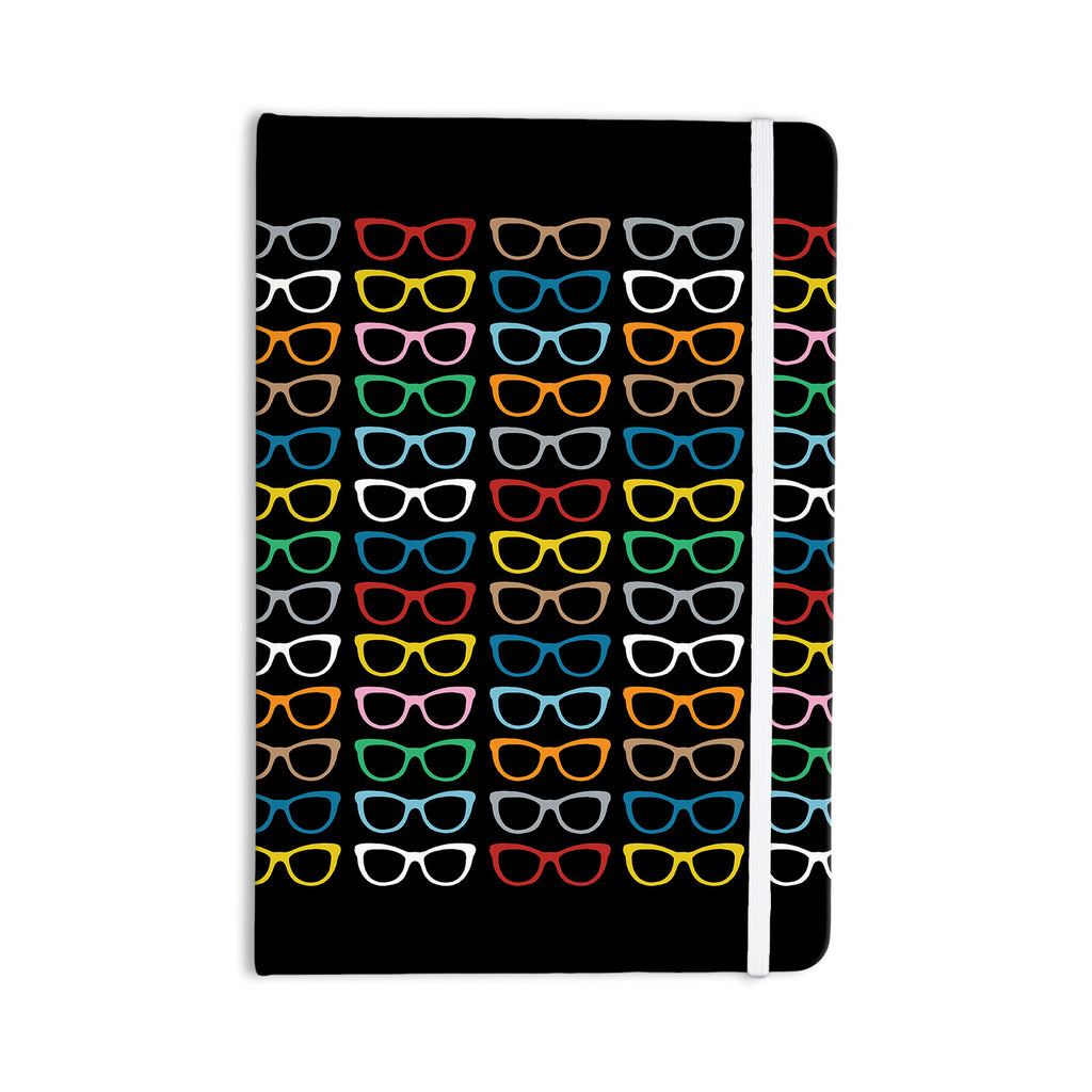 "Project M ""Sun Glasses at Night"" Everything Notebook - KESS InHouse  - 1"