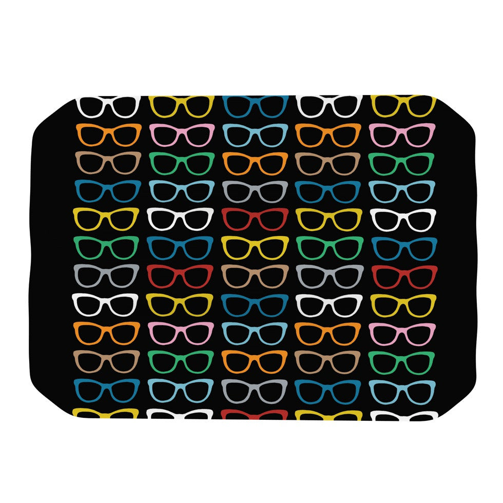 "Project M ""Sun Glasses at Night"" Place Mat - KESS InHouse"