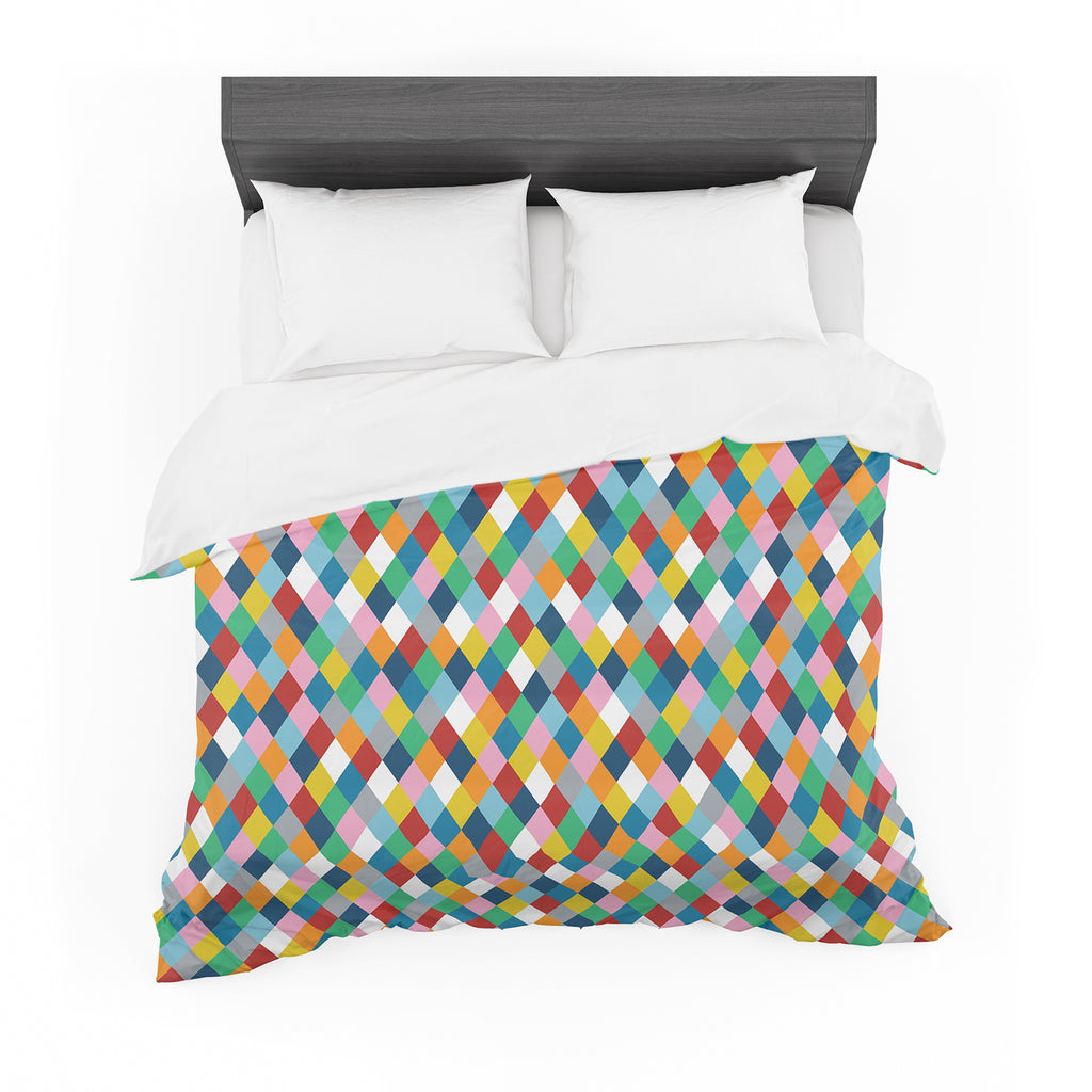 "Project M ""Harlequin"" Cotton Duvet"