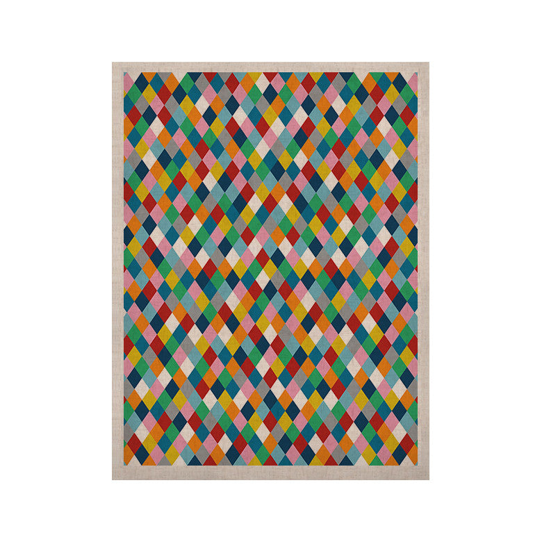 "Project M ""Harlequin"" KESS Naturals Canvas (Frame not Included) - KESS InHouse  - 1"