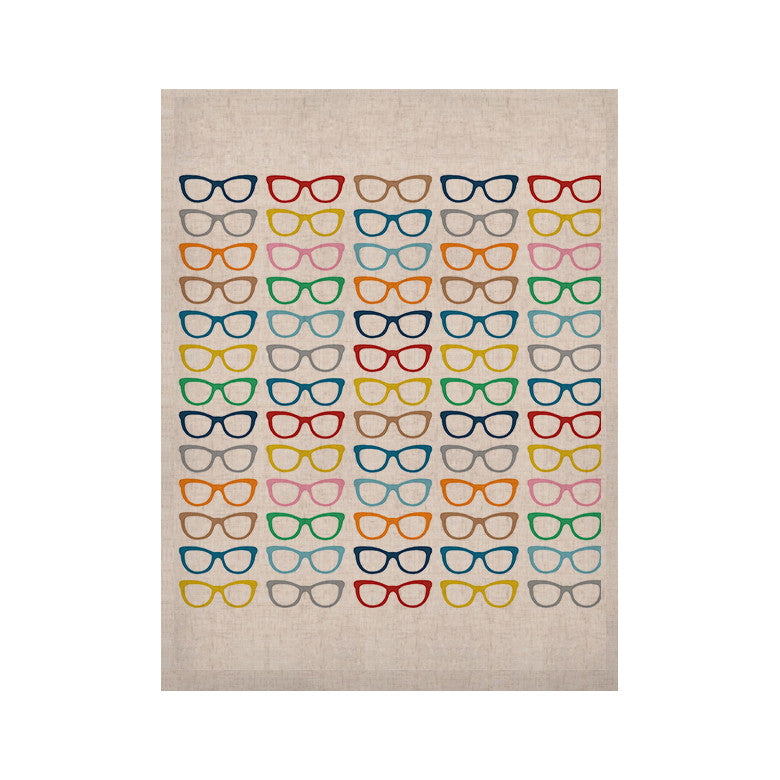 "Project M ""Rainbow Specs"" KESS Naturals Canvas (Frame not Included) - KESS InHouse  - 1"