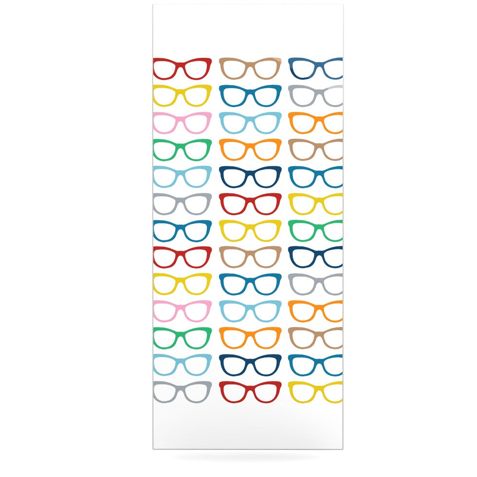 "Project M ""Rainbow Specs"" Luxe Rectangle Panel - KESS InHouse  - 1"