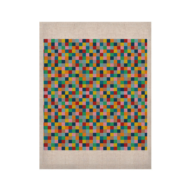 "Project M ""Colour Blocks"" KESS Naturals Canvas (Frame not Included) - KESS InHouse  - 1"
