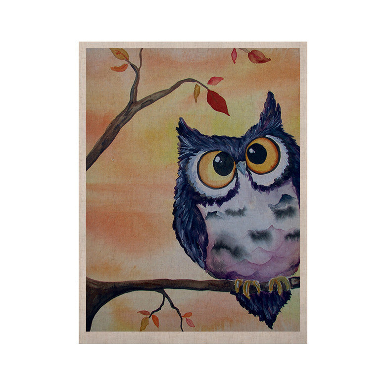 "Padgett Mason ""Hootie Cutie"" KESS Naturals Canvas (Frame not Included) - KESS InHouse  - 1"