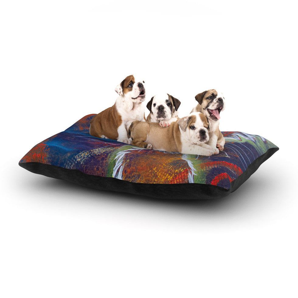 "Padgett Mason ""Rave Kitty"" Dog Bed - KESS InHouse  - 1"