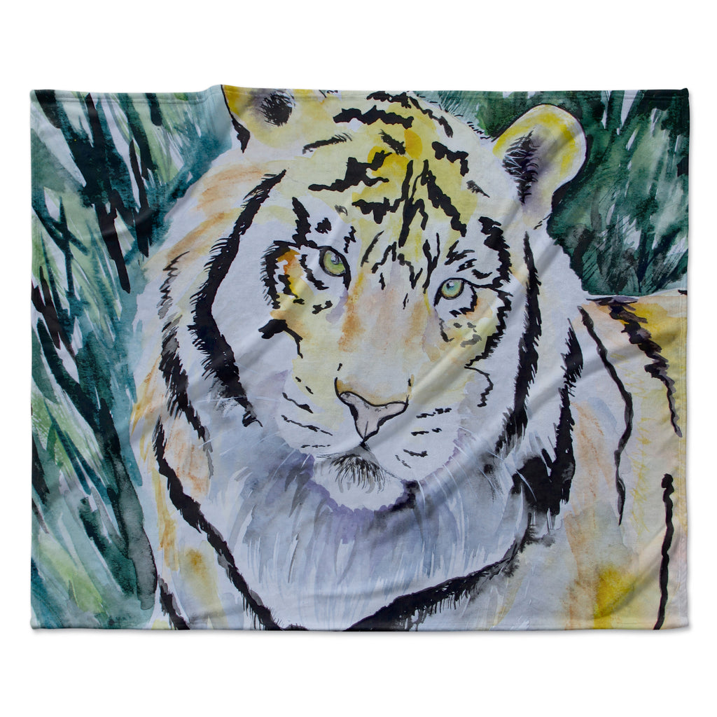 "Padgett Mason ""Tiger"" Fleece Throw Blanket"