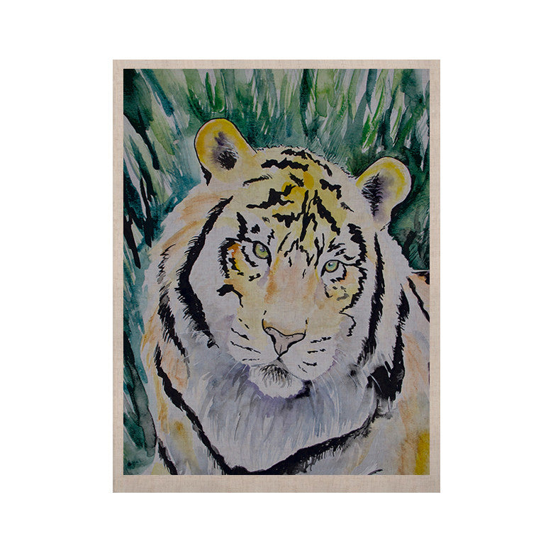 "Padgett Mason ""Tiger"" KESS Naturals Canvas (Frame not Included) - KESS InHouse  - 1"