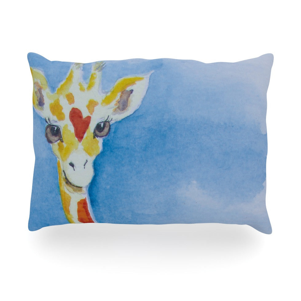 "Padgett Mason ""Topsy"" Oblong Pillow - KESS InHouse"