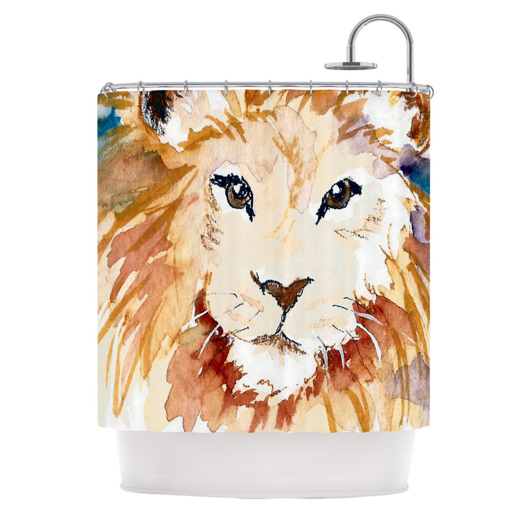 "Padgett Mason ""Leo"" Shower Curtain - KESS InHouse"