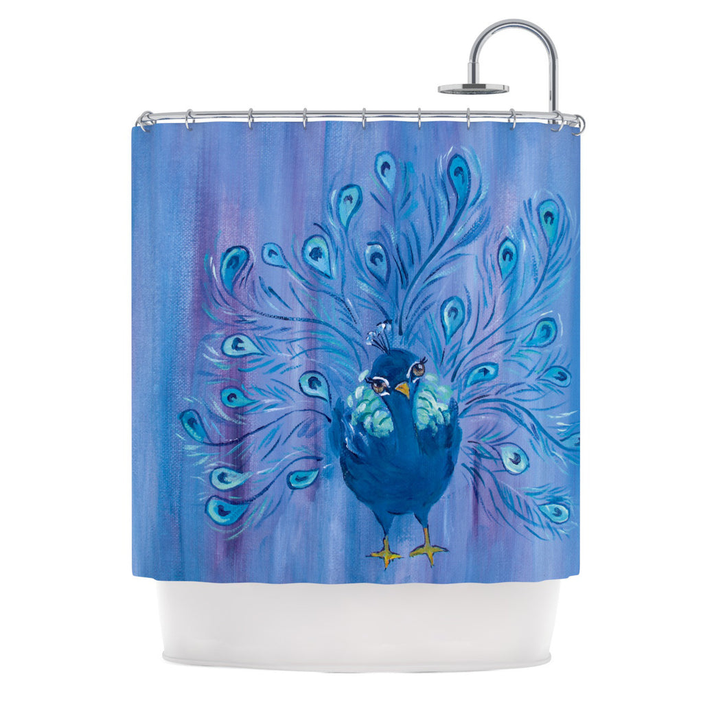 "Padgett Mason ""Little Master"" Shower Curtain - KESS InHouse"