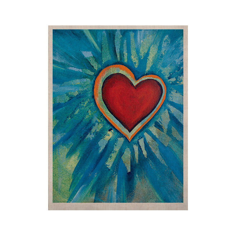 "Padgett Mason ""Love Shines On"" KESS Naturals Canvas (Frame not Included) - KESS InHouse  - 1"
