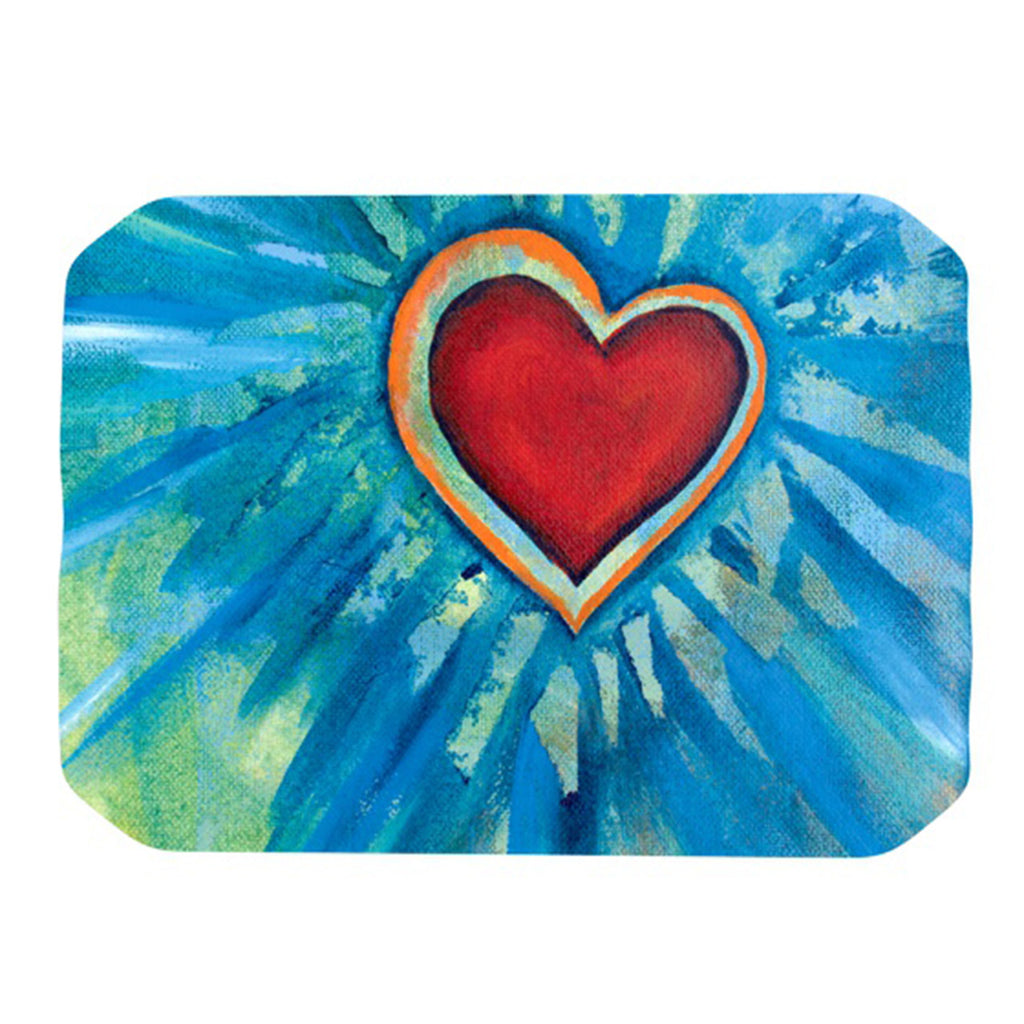"Padgett Mason ""Love Shines On"" Place Mat - KESS InHouse"