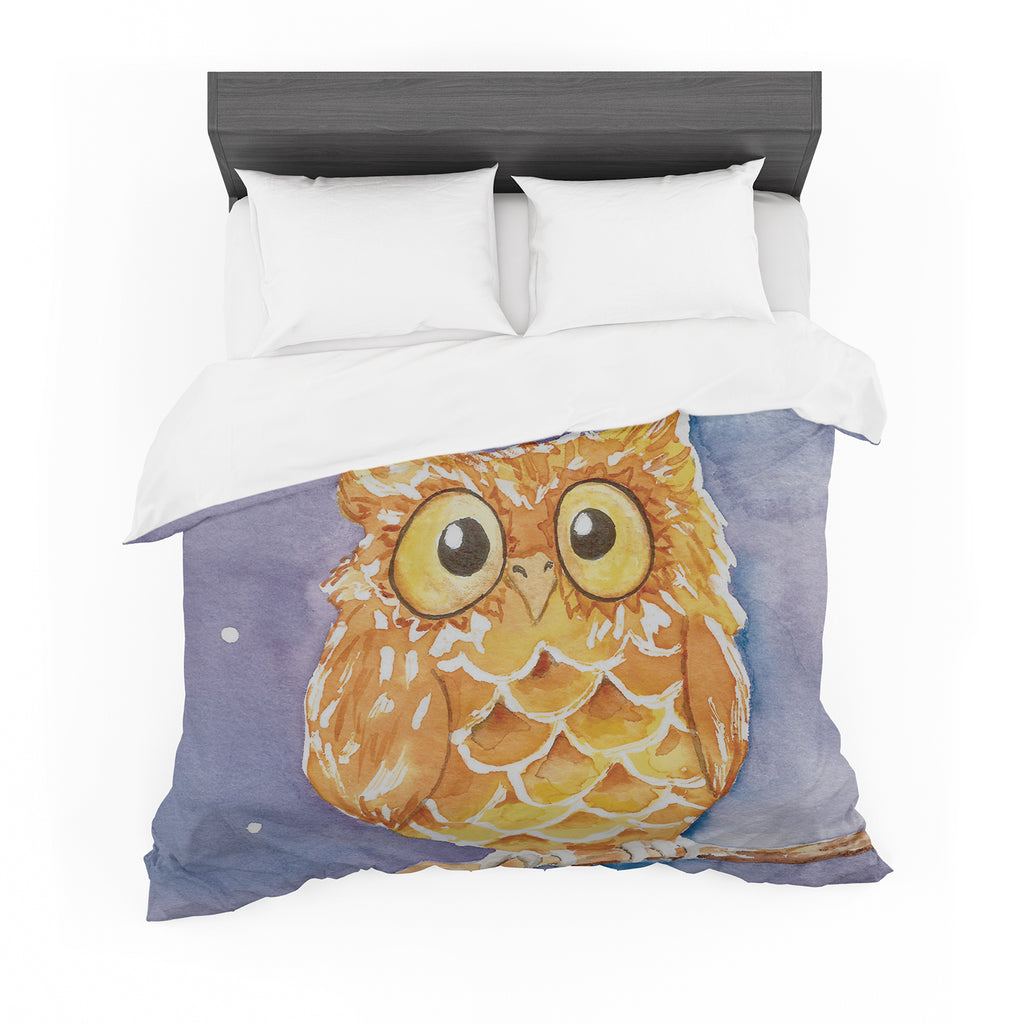 "Padgett Mason ""Little Hoot"" Cotton Duvet"