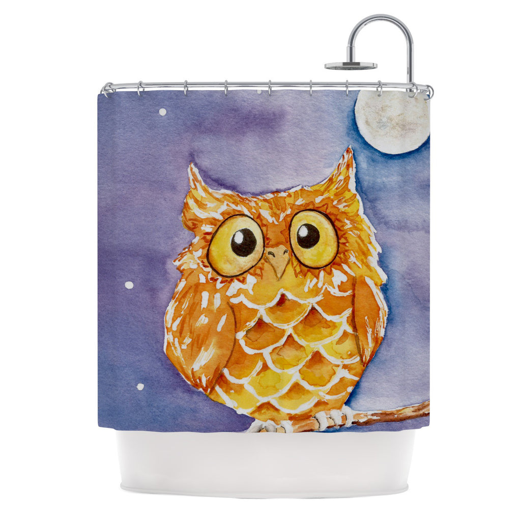 "Padgett Mason ""Little Hoot"" Shower Curtain - KESS InHouse"
