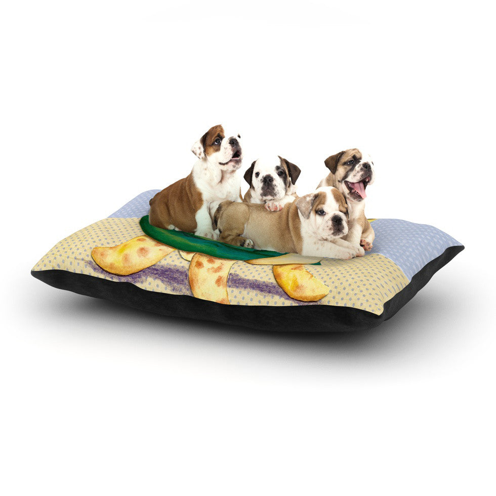"Padgett Mason ""Slow and Steady"" Dog Bed - KESS InHouse  - 1"