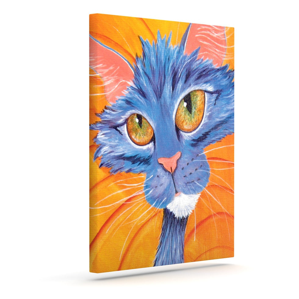 "Padgett Mason ""Tell Me More"" Outdoor Canvas Wall Art - KESS InHouse  - 1"