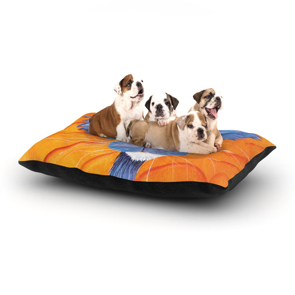 "Padgett Mason ""Tell Me More"" Dog Bed - KESS InHouse  - 1"