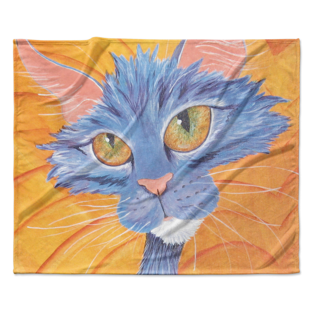 "Padgett Mason ""Tell Me More"" Fleece Throw Blanket"
