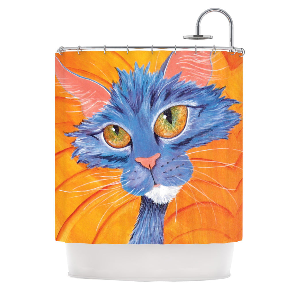 "Padgett Mason ""Tell Me More"" Shower Curtain - KESS InHouse"
