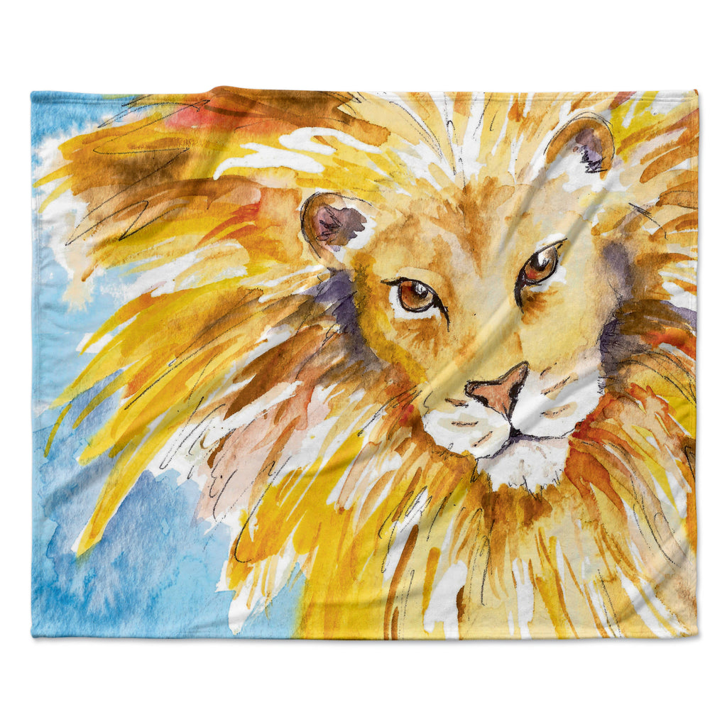 "Padgett Mason ""Wild One"" Fleece Throw Blanket"