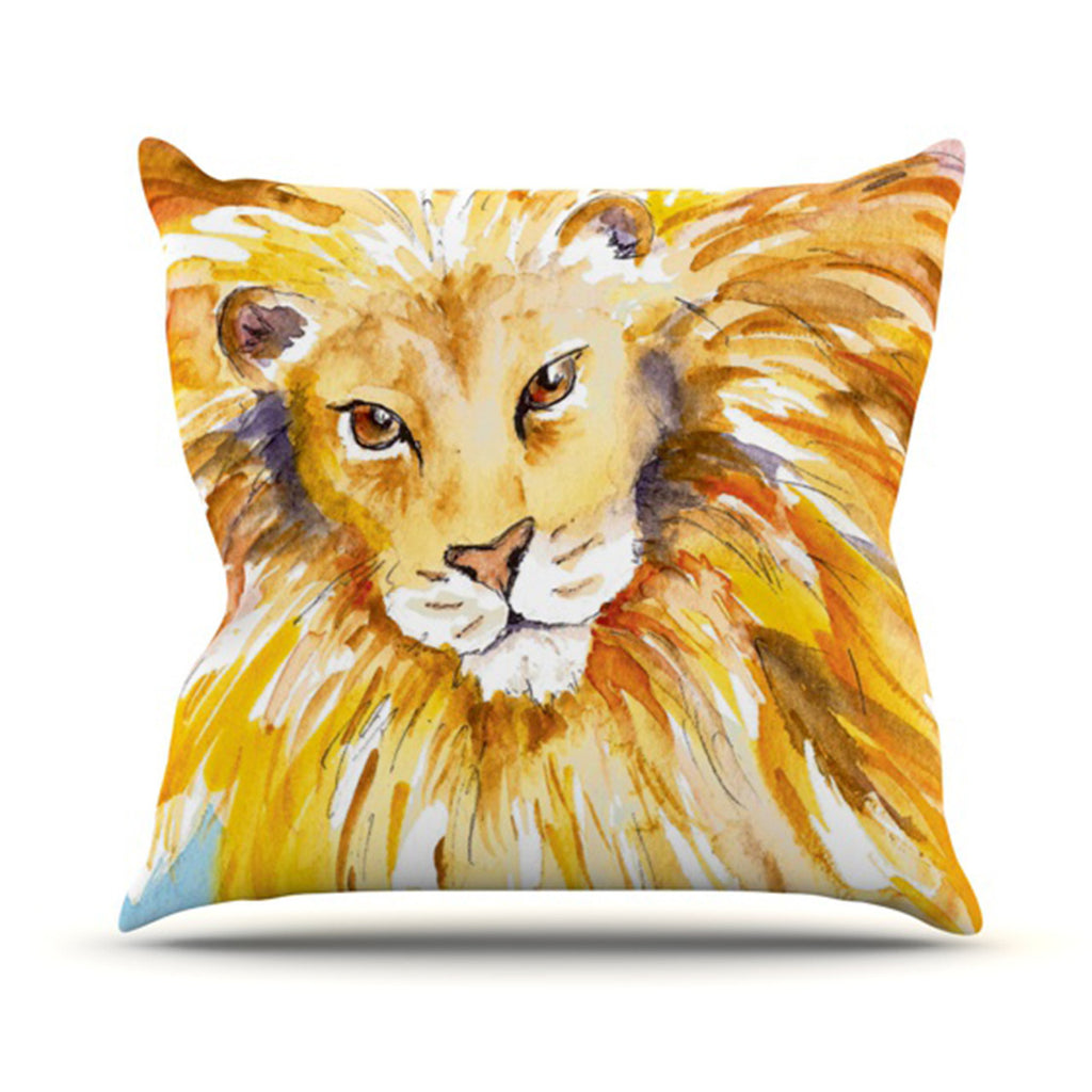 "Padgett Mason ""Wild One"" Outdoor Throw Pillow - KESS InHouse  - 1"