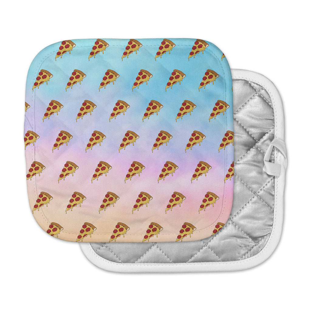 "Juan Paolo ""Lucid Pizza"" Food Pattern Pot Holder"
