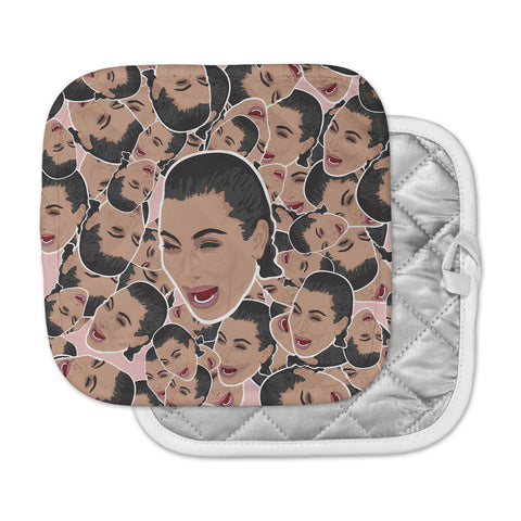 "Juan Paolo ""First World Problems"" Celebrity Funny Pot Holder"