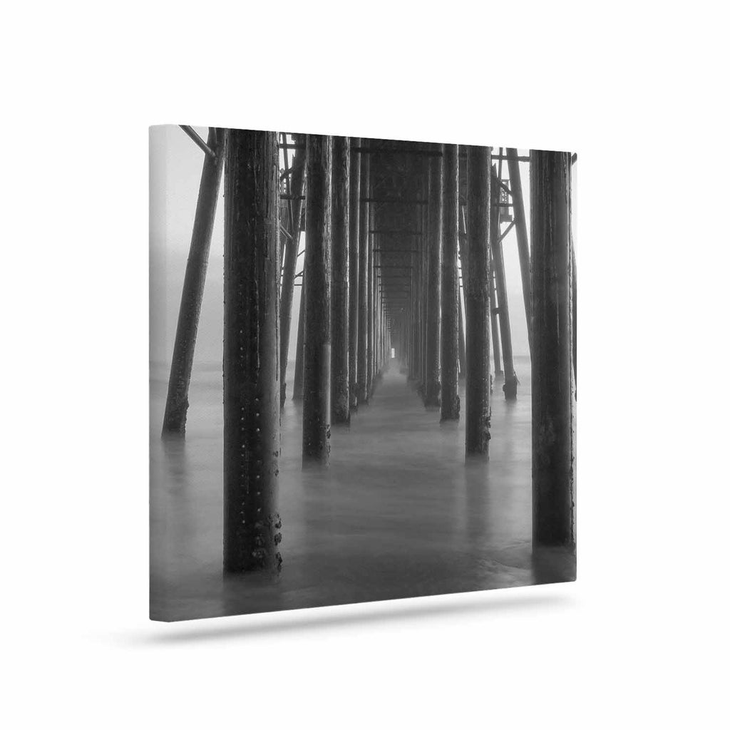 "Juan Paolo ""Vanishing Point"" Coastal Photography Canvas Art - KESS InHouse  - 1"