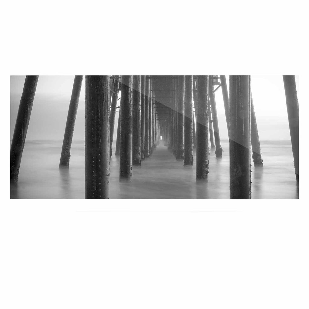 "Juan Paolo ""Vanishing Point"" Coastal Photography Luxe Rectangle Panel - KESS InHouse  - 1"