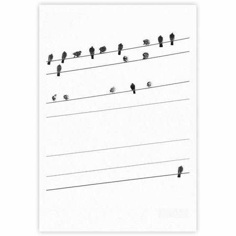 birds on wire by qing ji kess inhouse rh kessinhouse com Ford Truck Wiring Diagrams Ford Truck Wiring Diagrams