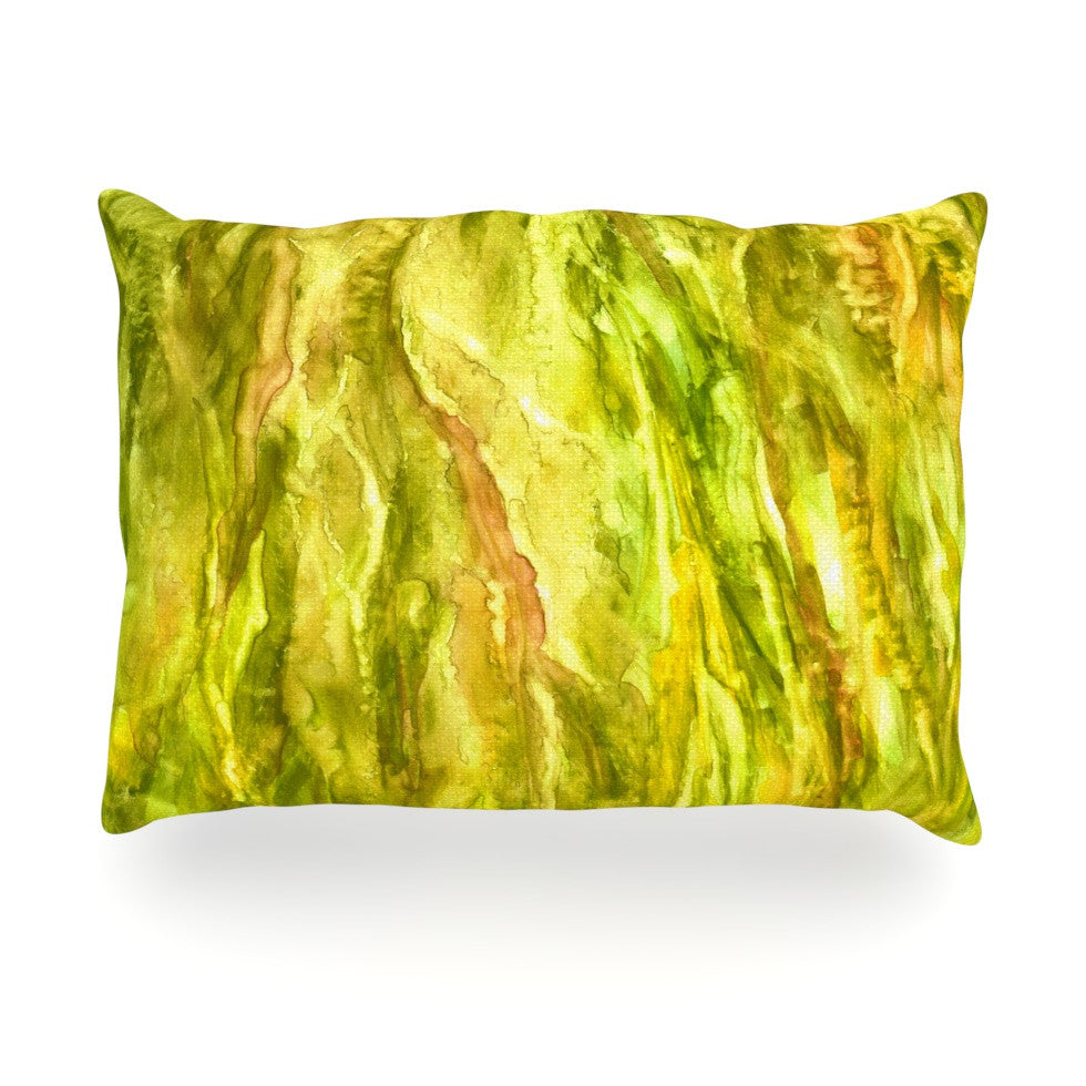 "Rosie Brown ""Tropical Delight"" Oblong Pillow - KESS InHouse"