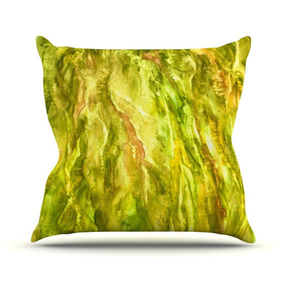 "Rosie Brown ""Tropical Delight"" Outdoor Throw Pillow - KESS InHouse  - 1"