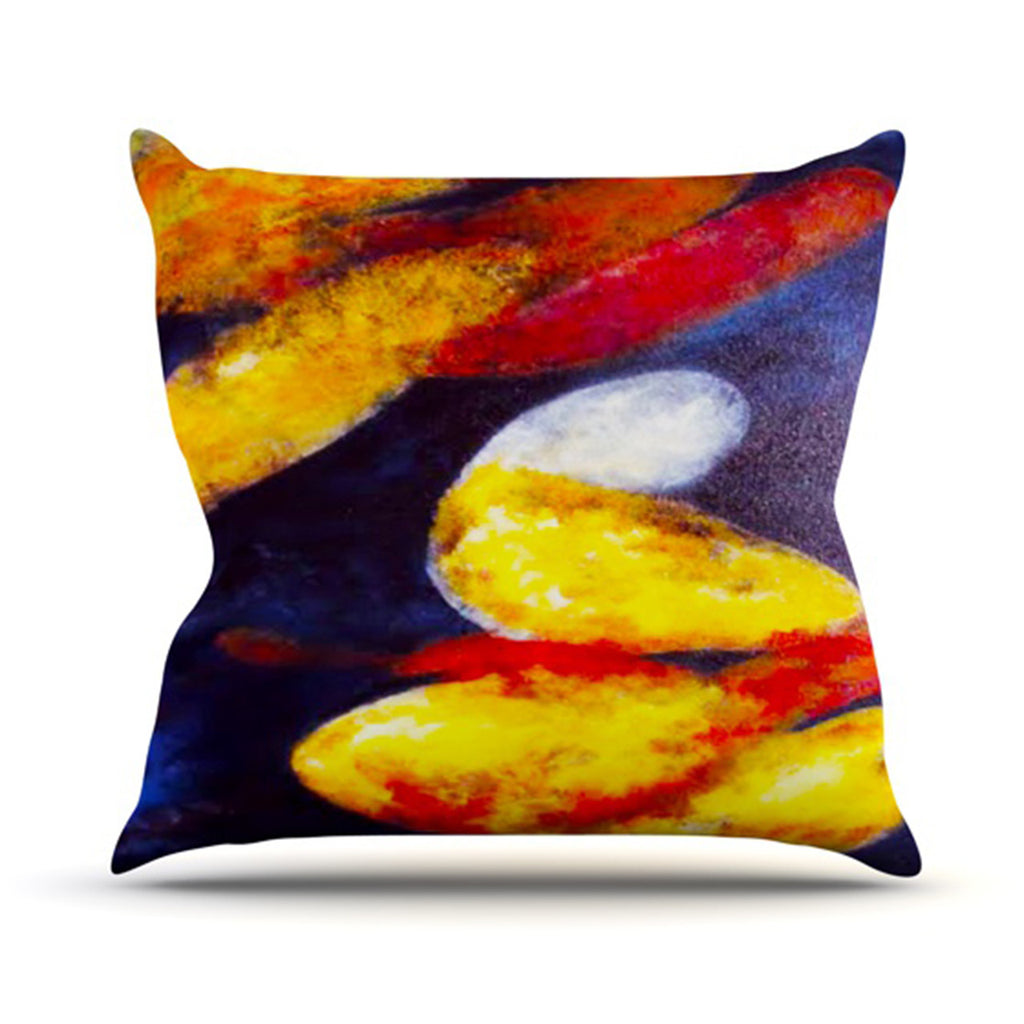 "Rosie Brown ""Into The Light"" Throw Pillow - KESS InHouse  - 1"