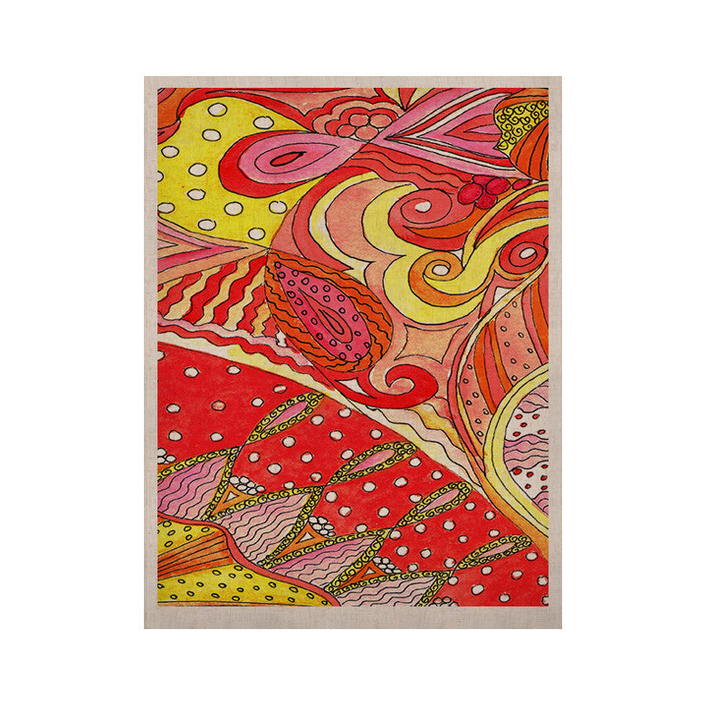 "Rosie Brown ""Swirls"" KESS Naturals Canvas (Frame not Included) - KESS InHouse  - 1"