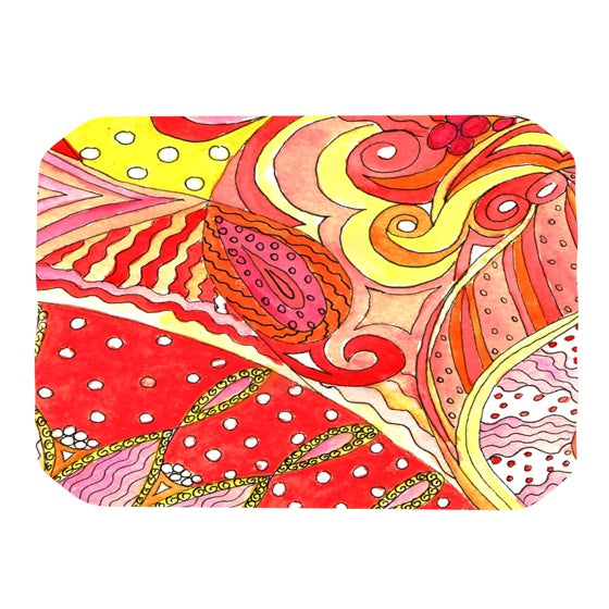 "Rosie Brown ""Swirls"" Place Mat - KESS InHouse"