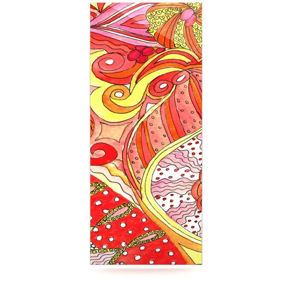 "Rosie Brown ""Swirls"" Luxe Rectangle Panel - KESS InHouse  - 1"