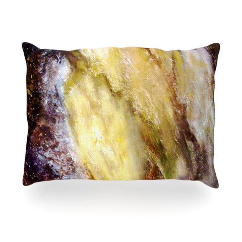 "Rosie Brown ""Georgia"" Oblong Pillow - KESS InHouse"