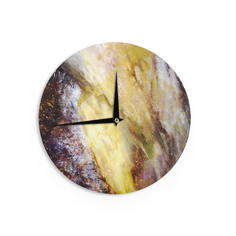 "Rosie Brown ""Georgia"" Wall Clock - KESS InHouse"
