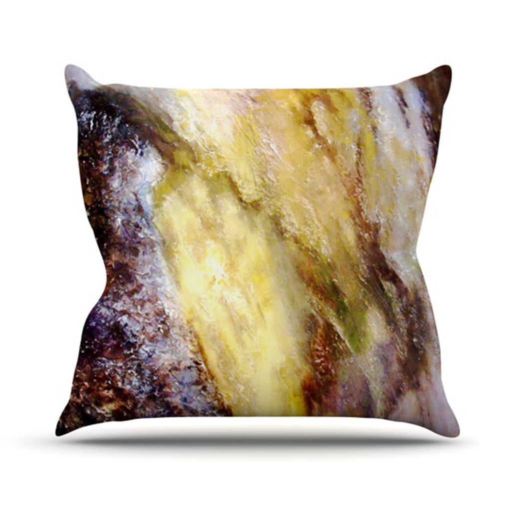 "Rosie Brown ""Georgia"" Throw Pillow - KESS InHouse  - 1"