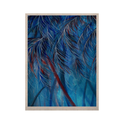 "Rosie Brown ""Red White Tropical"" KESS Naturals Canvas (Frame not Included) - KESS InHouse  - 1"