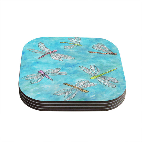 "Rosie Brown ""Dragonfly"" Coasters (Set of 4)"