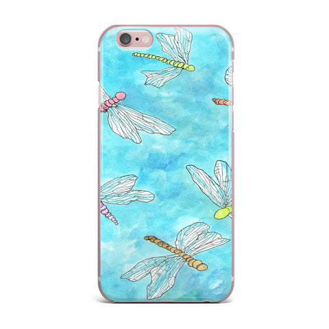 "Rosie Brown ""Dragonfly"" iPhone Case - KESS InHouse"