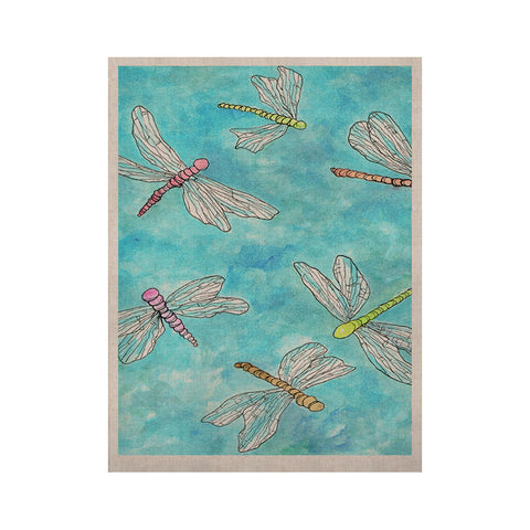"Rosie Brown ""Dragonfly""  KESS Naturals Canvas (Frame not Included) - KESS InHouse  - 1"