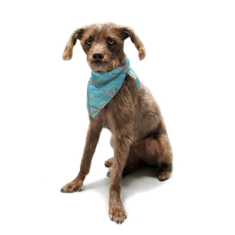 "Rosie Brown ""Dragonfly"" Pet Bandana - KESS InHouse  - 1"